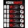 SKATE KOLEČKA BONES STF Patterns 54mm V3 99a