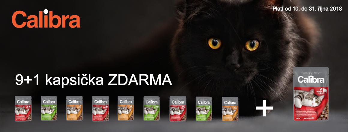 Calibra kapsičky pro kočičky 9+1 zdarma