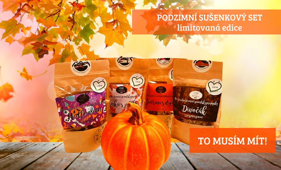 Podzimní sušenkový set
