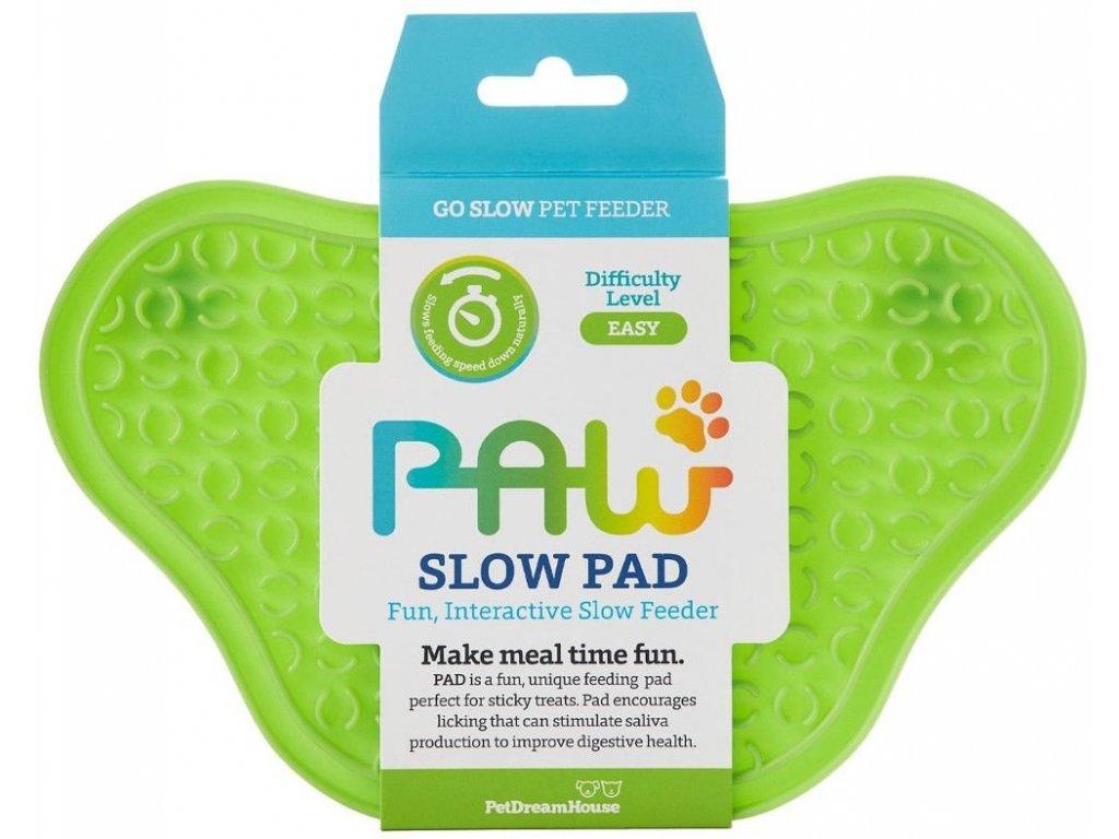 Lízací podložka Paw Lick Pad - zelená