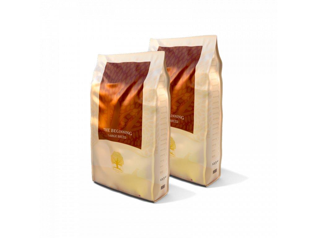 dvojbaleni essential foods beginning large breed 125kg