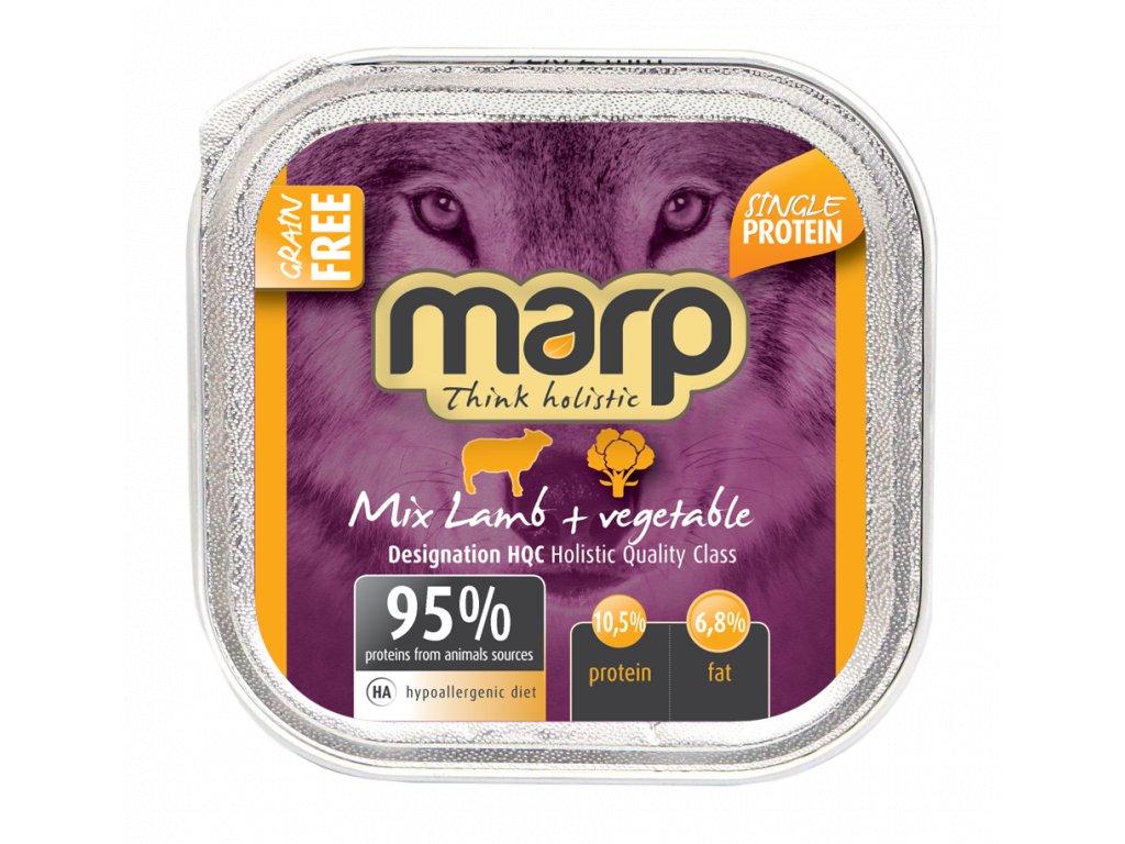 mix lamb pet food B