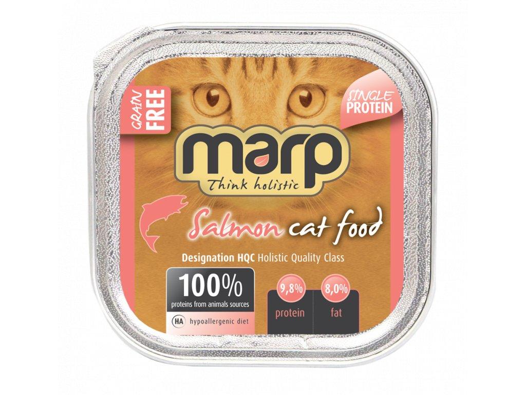 salmon cat food B