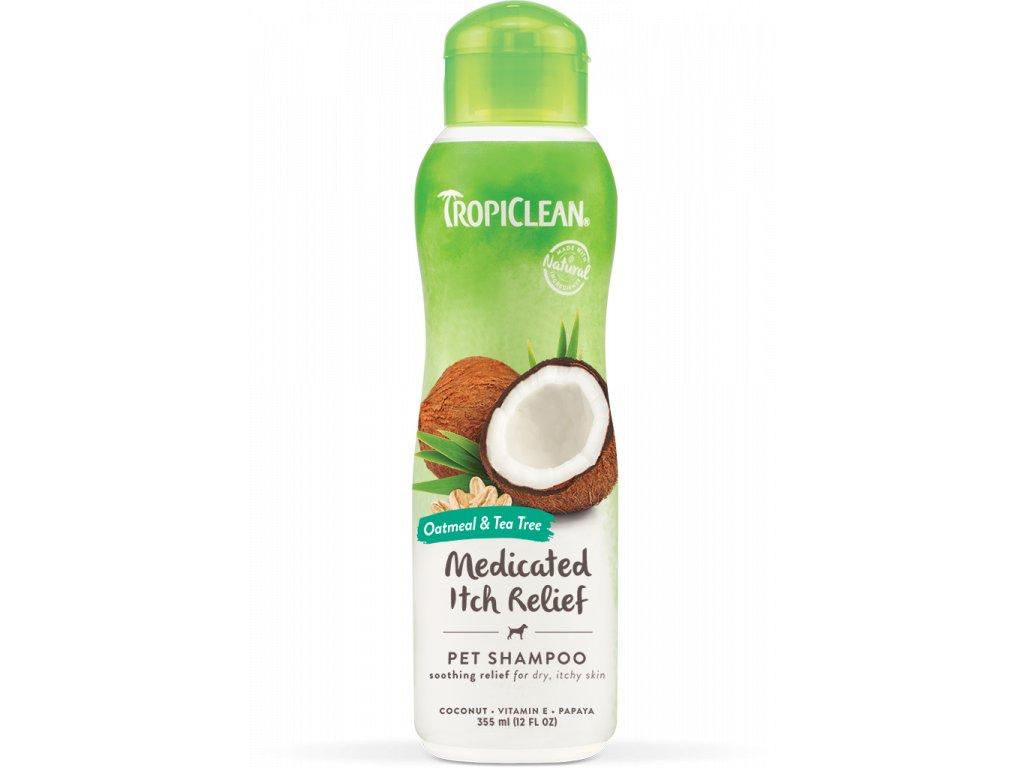 Tropiclean šampón ovesné vločky a čajovník 355 ml