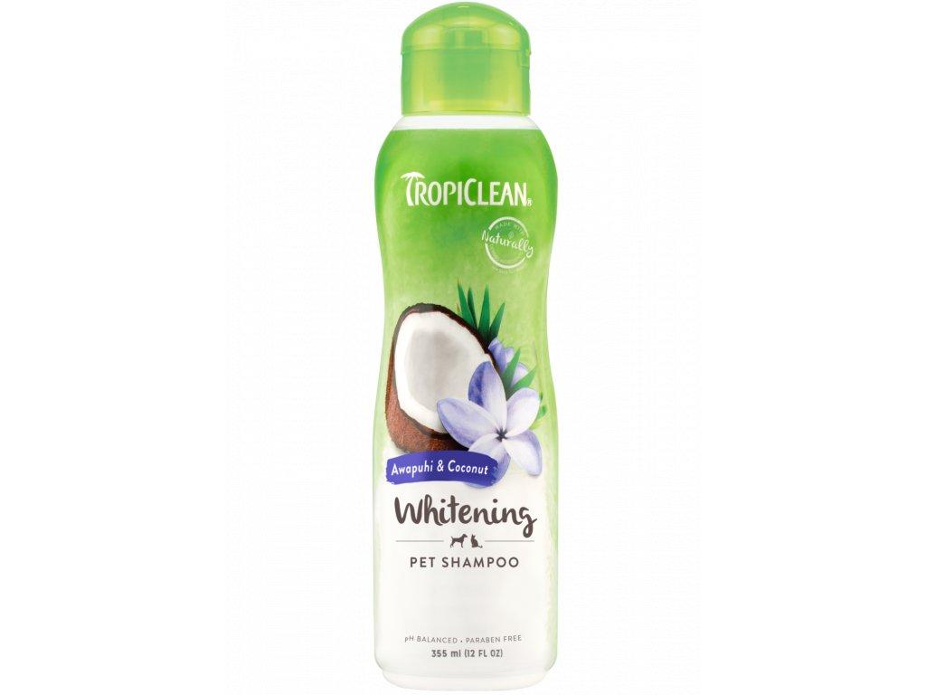Tropiclean šampón White Coat na bílou srst 355 ml