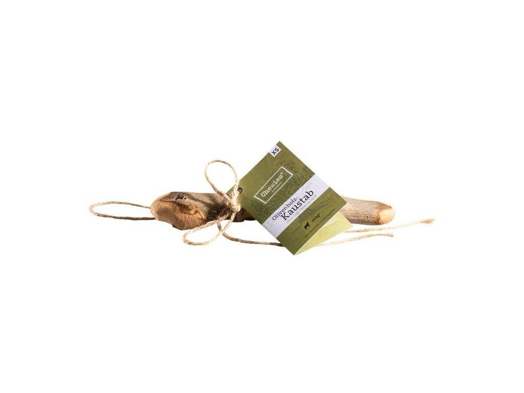Olivové dřevo na žvýkání, vel. XS