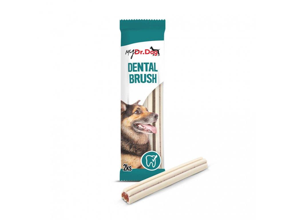mydrdog pamlsky dental brush