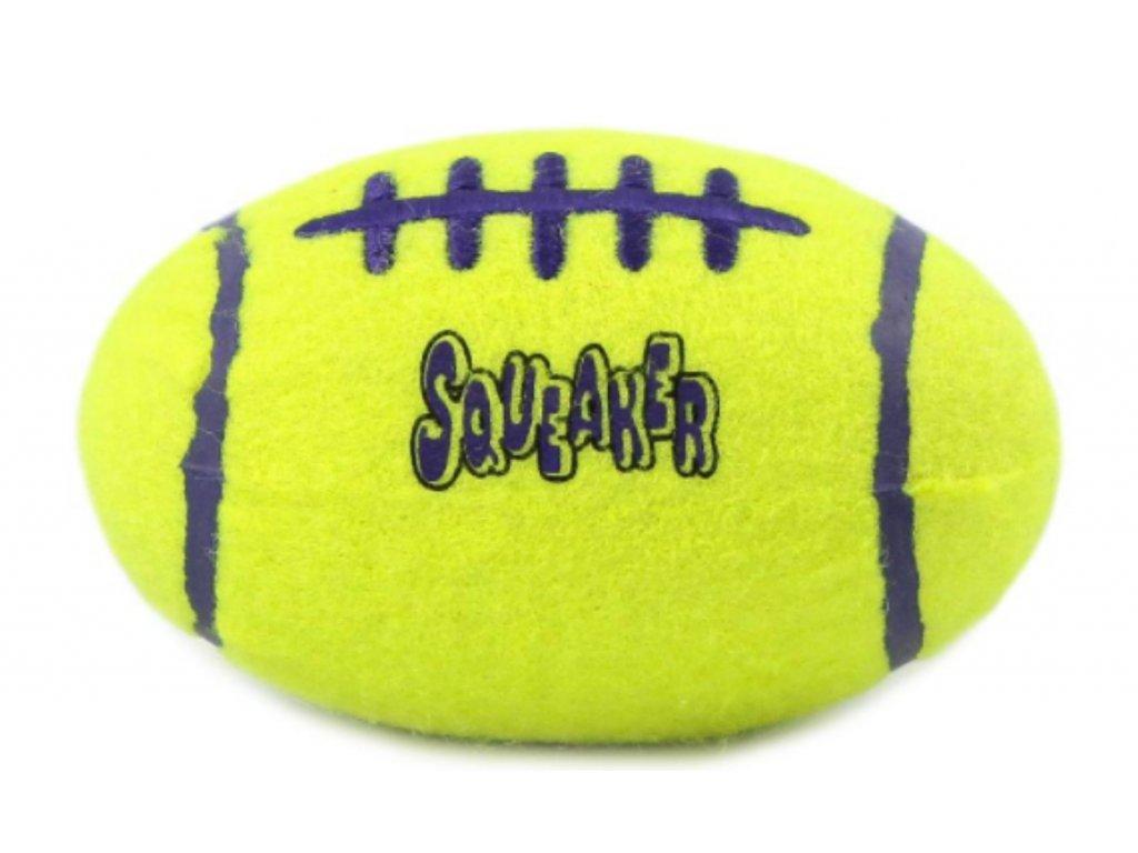 Kong Airdog míč rugby tenis L 16,5x10 cm