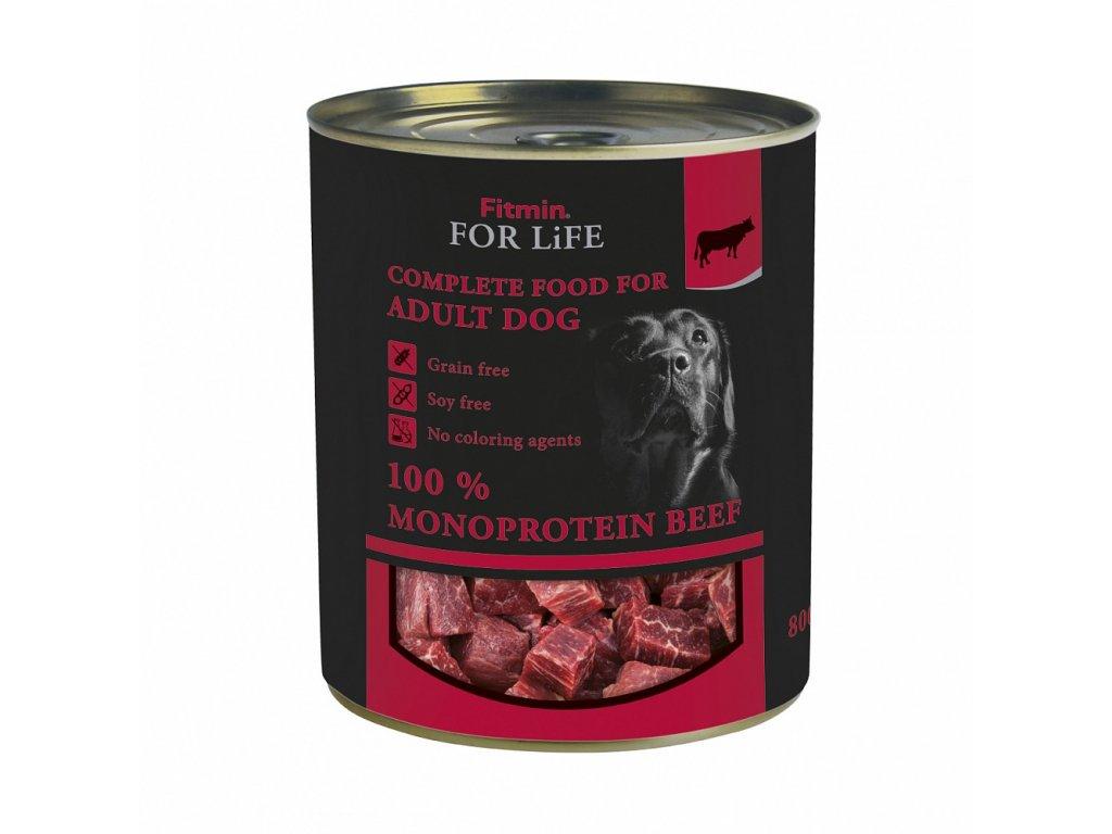 ffl dog tin beef 800g h L