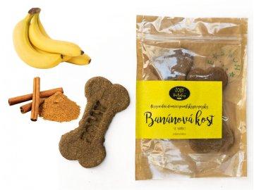 Banánová KOST se skořicí 2 ks, 100 g