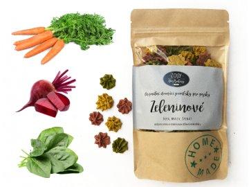 Zeleninové pusinky 100 g