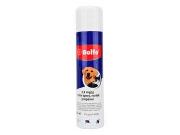 Bolfo antiparazitní sprej pro psy i kočky 250 ml