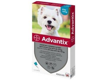 Advantix Spot-On pro psy 4-10 kg