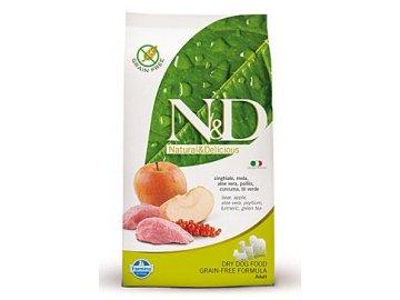 N&D GF DOG Adult Boar & Apple 12 kg