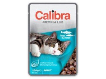 4689 calibra cat kapsa pstruh a losos v omacce 100 g