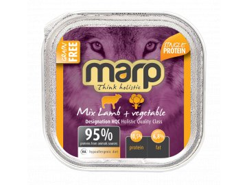 mix lamb pet food B