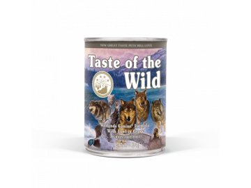 taste of the wild wetlands konzerva 375g