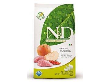 N&D GF DOG Adult MINI Boar & Apple 2,5 kg