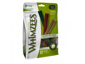 WHIMZEES Dental stix M 12+2 ks, 360+60 g