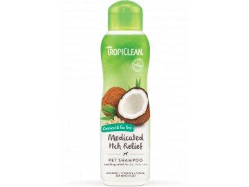 Tropiclean šampón ovesné vločky a čajovník - uklidňující, proti svědění 355 ml