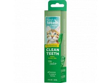 Tropiclean zubní gel pro kočky 59 ml