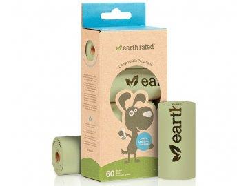 Sáčky Earth Rated kompostovatelné, 60ks