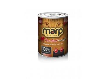 Marp Beef konzerva pro kočky 400 g