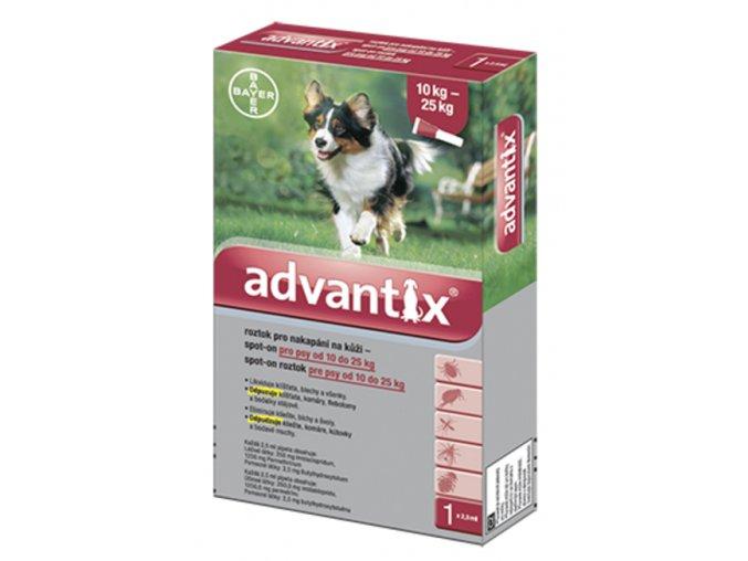 Advantix Spot-On pro psy 10-25 kg