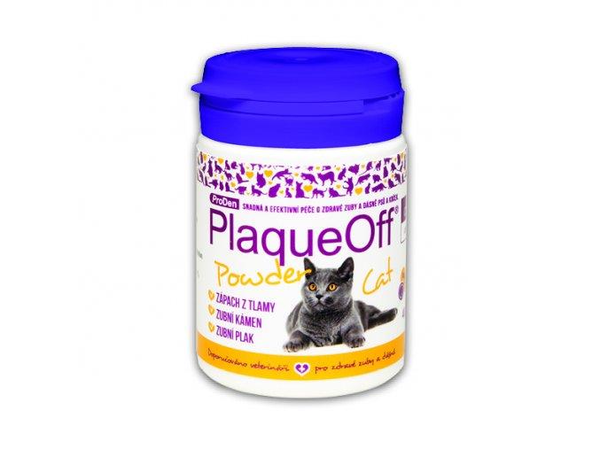 plaqueoff powder cat