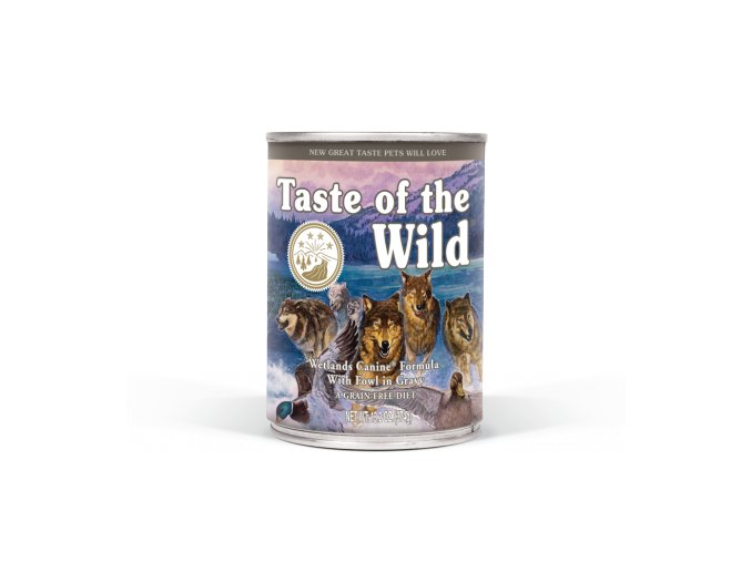 taste of the wild wetlands konzerva 375g