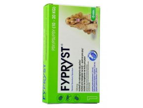 KRKA Fypryst Spot on Dog M 10-20 kg 1x1,34 ml