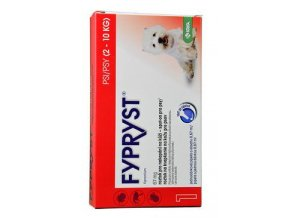 KRKA Fypryst Spot on Dog S 2-10 kg 1x0,67 ml