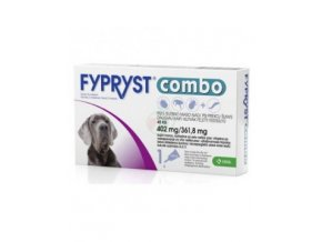 fypryst combo dog xl 402 mg x 3 pip farmacie veterinara krka