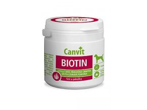 Canvit Biotin pro psy do 25 kg 100 g LAST MINUTE