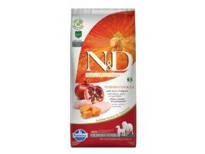 N&D GF Pumpkin DOG Adult M/L Chicken & Pomegranate 12 kg