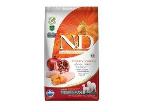 N&D GF Pumpkin DOG Adult M/L Chicken & Pomegranate 2,5 kg