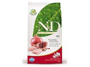 N&D GF DOG Adult Chicken & Pomegranate 12 kg