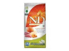 N&D GF Pumpkin DOG Adult M/L Boar & Apple 12 kg