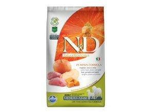 N&D GF Pumpkin DOG Adult M/L Boar & Apple 2,5 kg