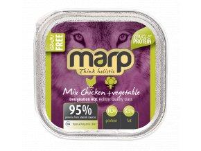 mix chicken pet food B