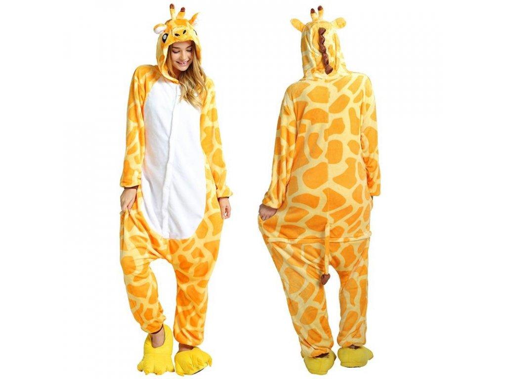 Kigurumi overal Žirafa