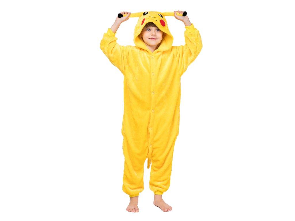 Dětský overal Pikachu pokemon