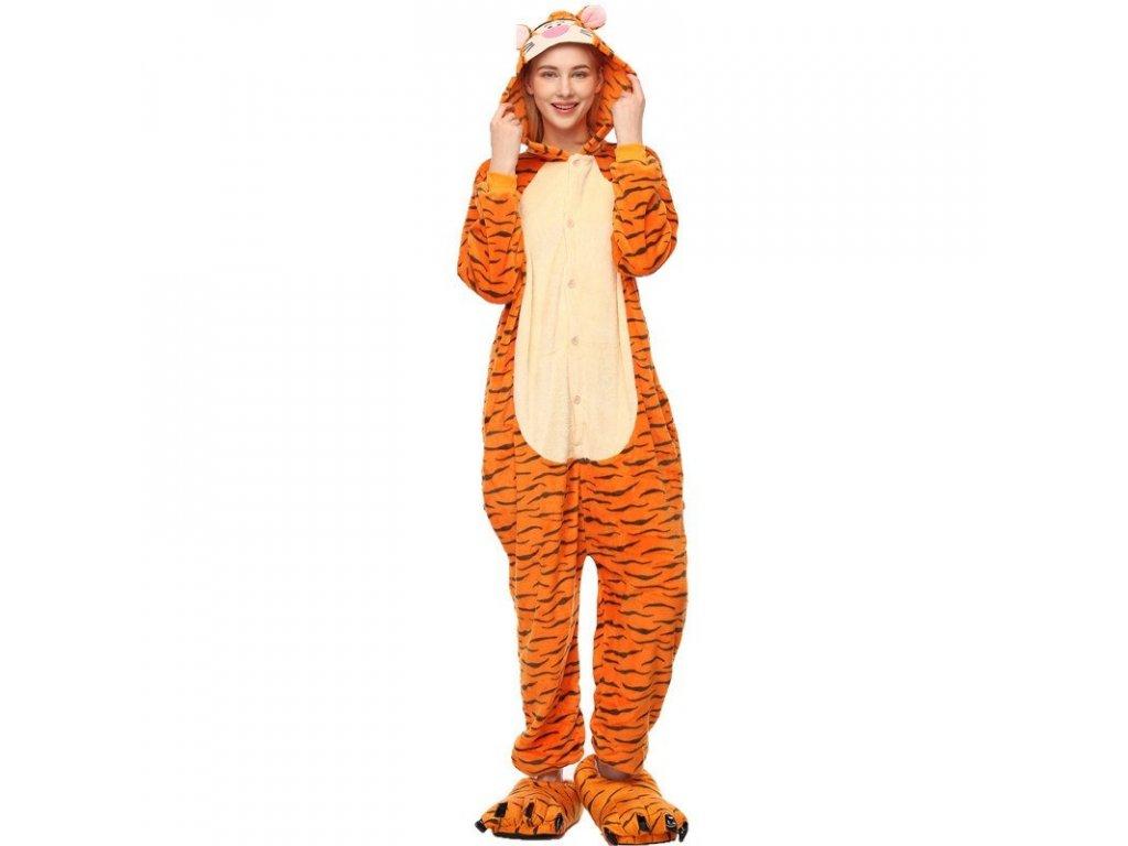 overal kigurumi tygr