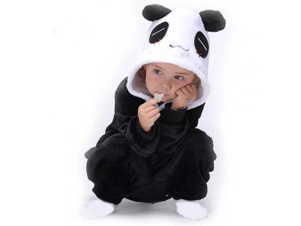 Dětský overal Panda velikost 98-140 (Velikost 98)