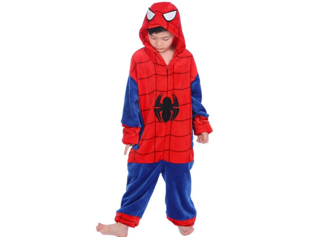 Dětský overal Spiderman velikost 98-140 (Velikost 98)