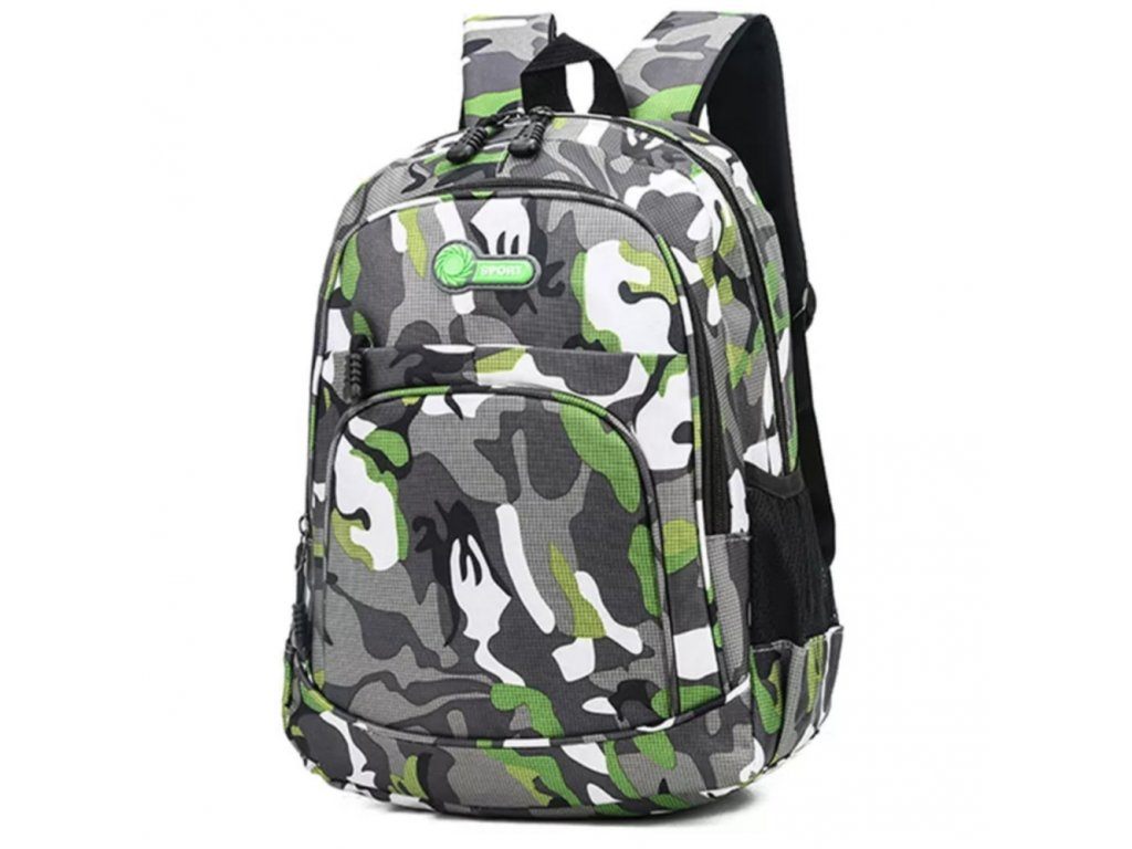Trendy batoh pro kluky (Barva Zelená)