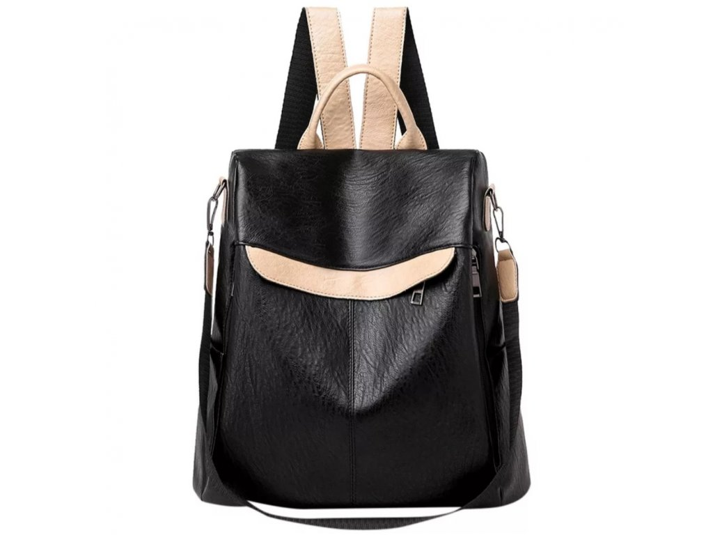Dámský kožený batoh