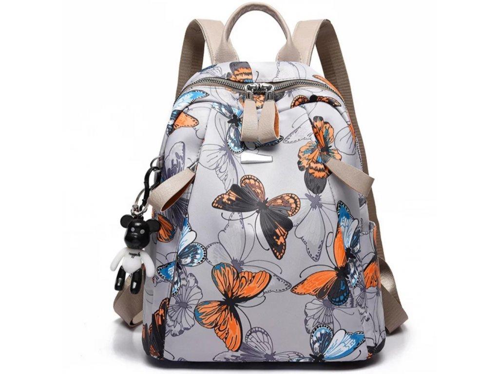 Dámský batoh motýlci