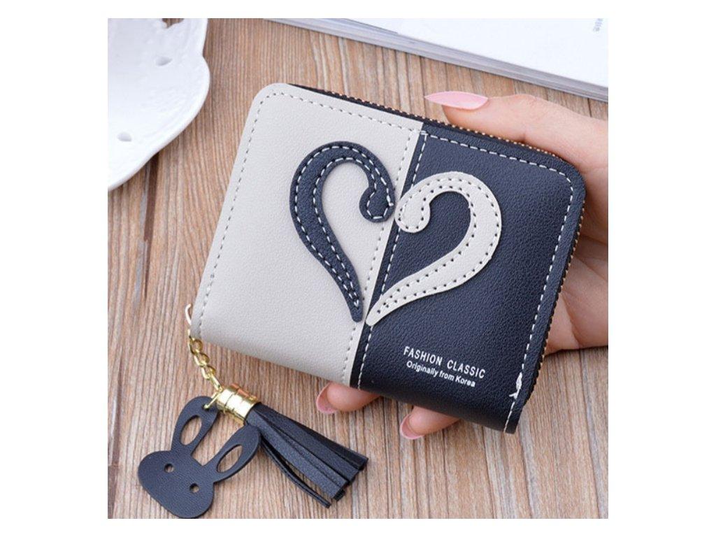 Malá elegantní dámská peněženka