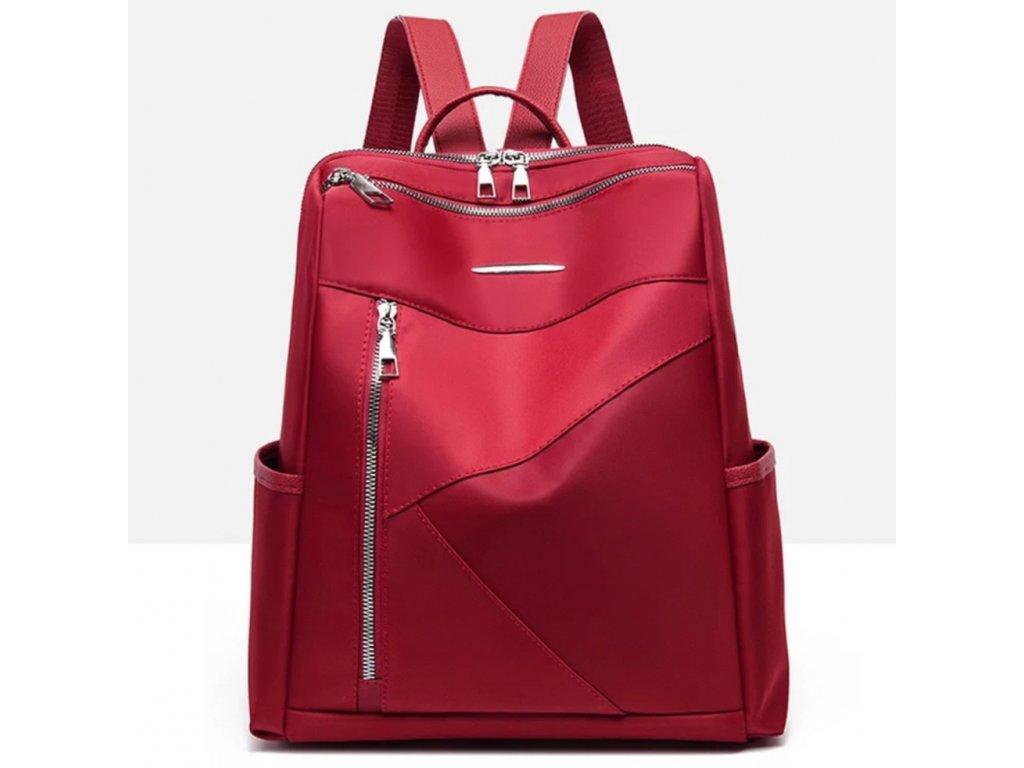 Dámský červený batoh